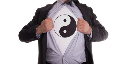 Ying Yang T-Shirt Image from William Sinclair The Real Truth About You Podcast