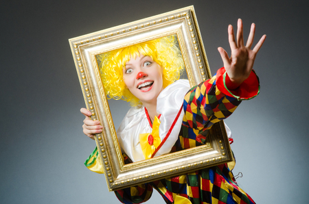 Clown in a frame from William Sinclair The Real Truth About You Podcast