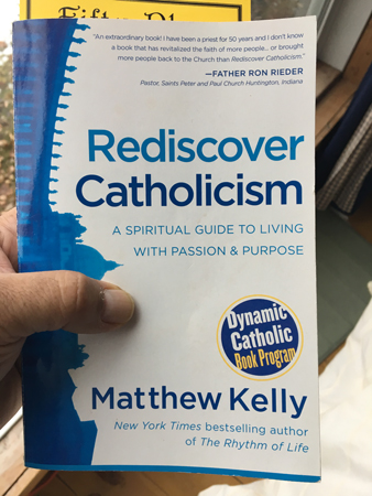 The Book - Rediscover Catholicism from William Sinclair The Real Truth About You Podcast